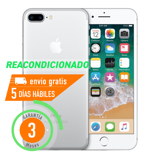 Apple iPhone 7 Plus 32 GB Plata Reacondicionado