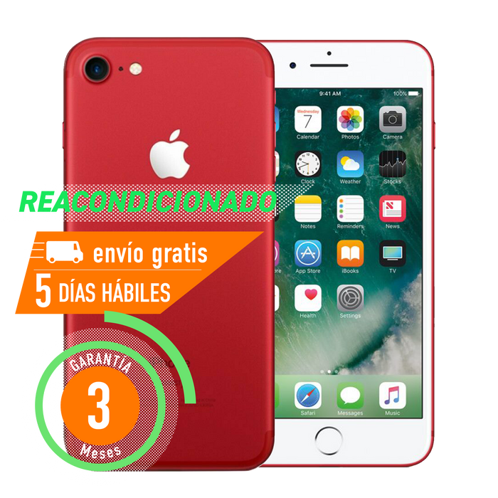 Apple iPhone 7 128 GB Rojo