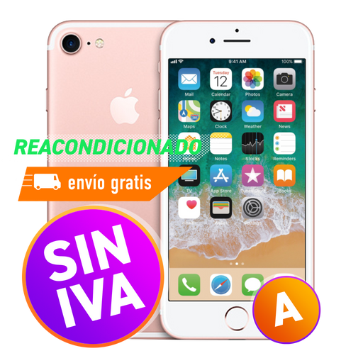 Apple iPhone 7 32 GB Rosado Reacondicionado