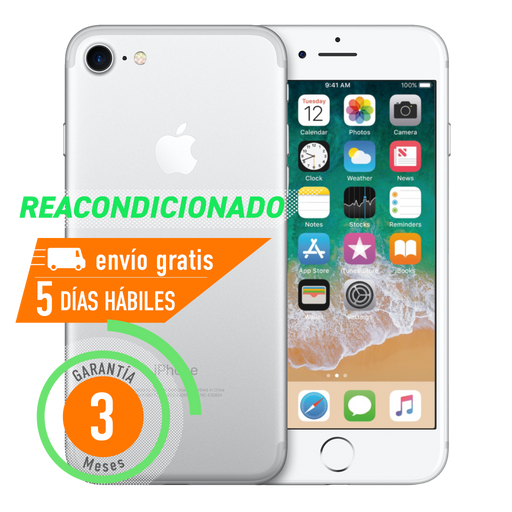 Apple iPhone 7 32 GB Plata Reacondicionado