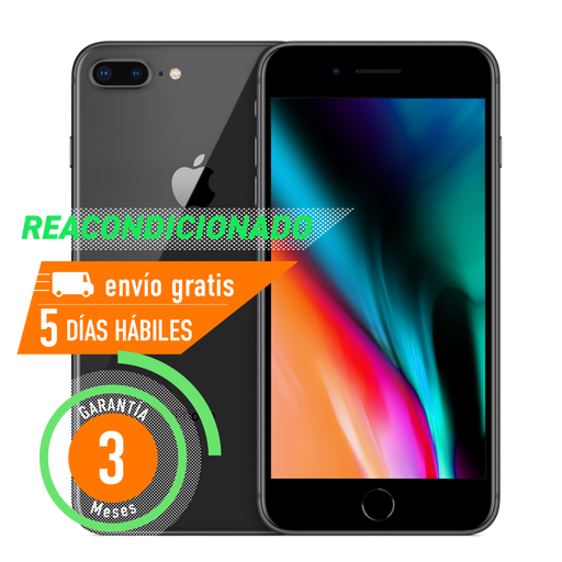 Apple iPhone 8 Plus 64 GB Gris Espacial Reacondicionado