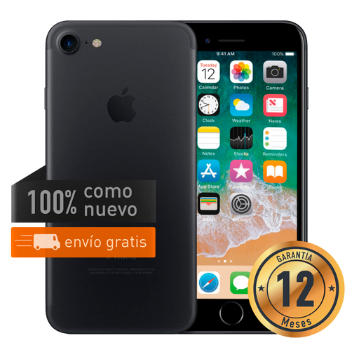 Apple iPhone 7 128 GB Negro Mate Certificado
