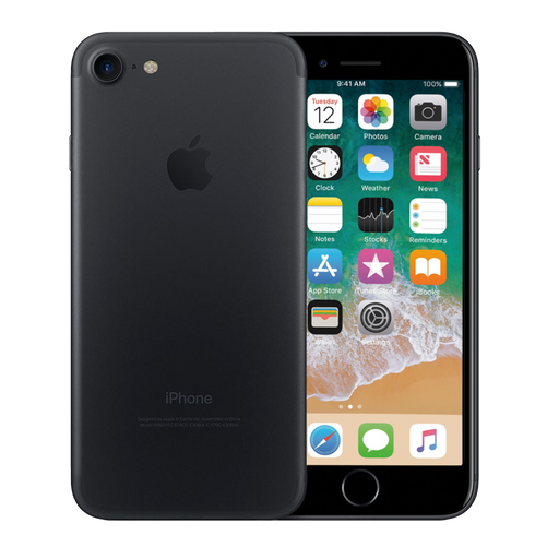 Apple iPhone 7 128 GB Negro Mate Reacondicionado