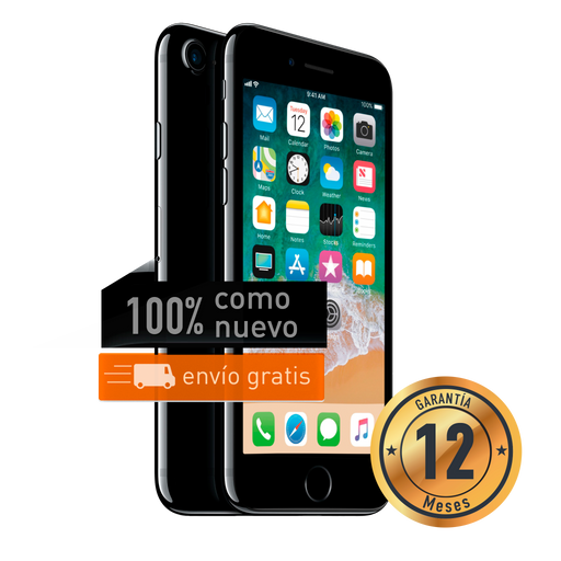 Apple iPhone 7 128 GB Negro Brillante Certificado