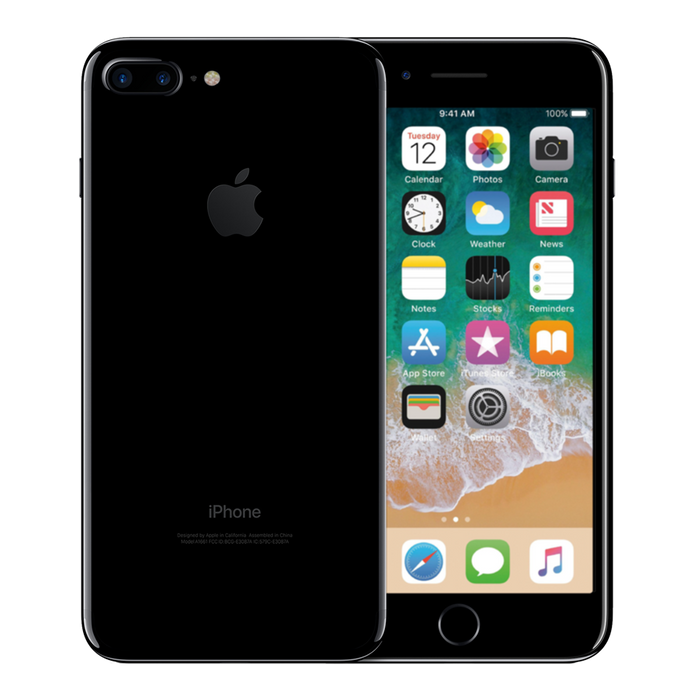 Apple iPhone 7 Plus 128 GB Negro Brillante Reacondicionado