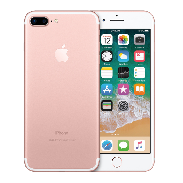 Apple iPhone 7 Plus 128 GB Rosado Reacondicionado