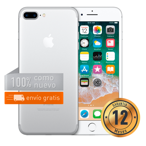 Apple iPhone 7 Plus 256 GB Plata Certificado