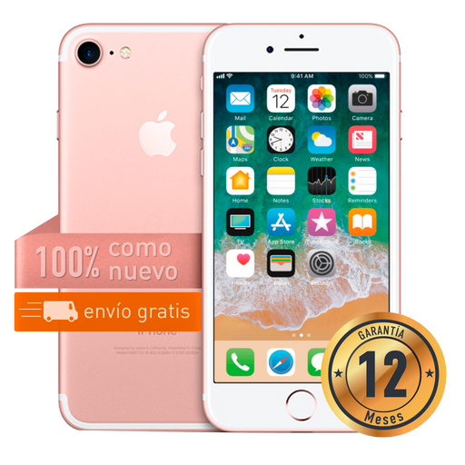 Apple iPhone 7 128 GB Rosado Certificado