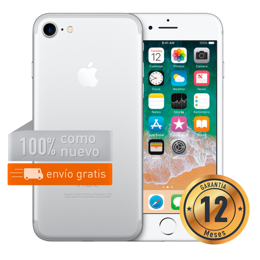 Apple iPhone 7 128 GB Plata Certificado