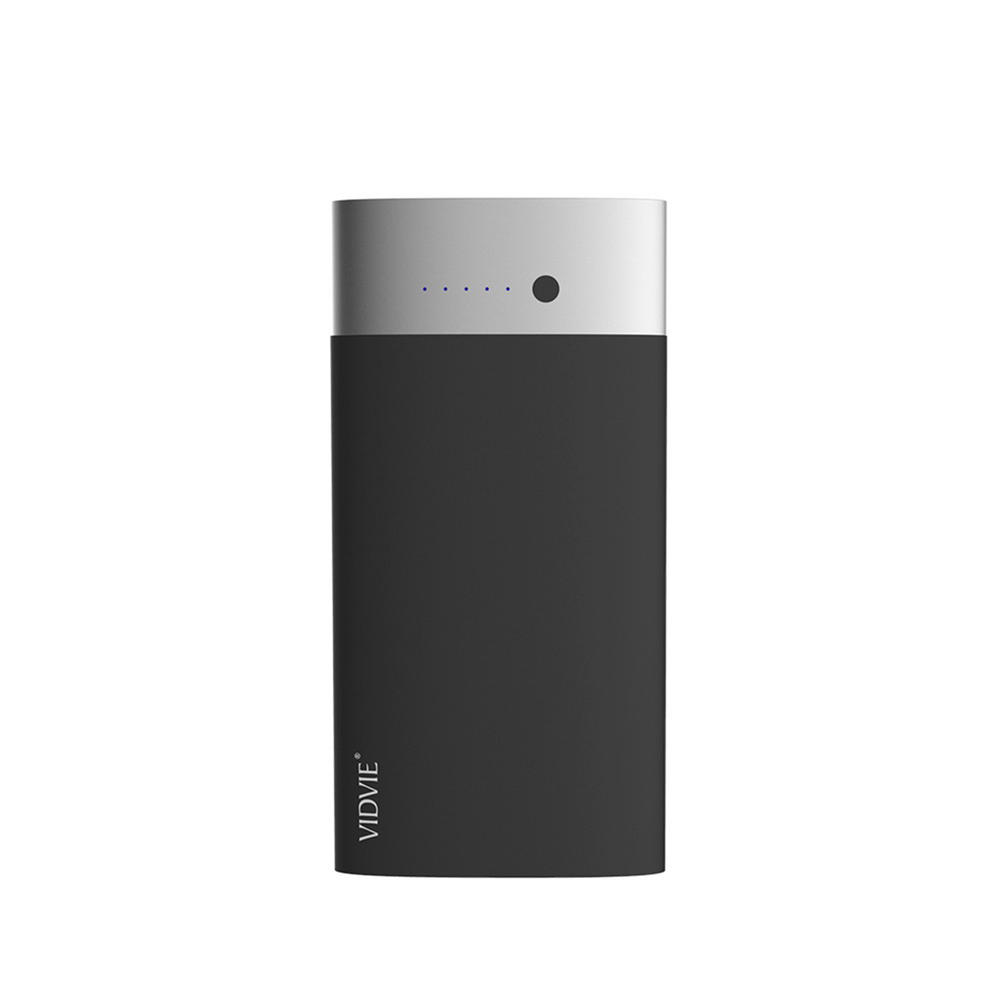 Power Bank 8000 mAh 2 puertos Negro Vidvie PB711