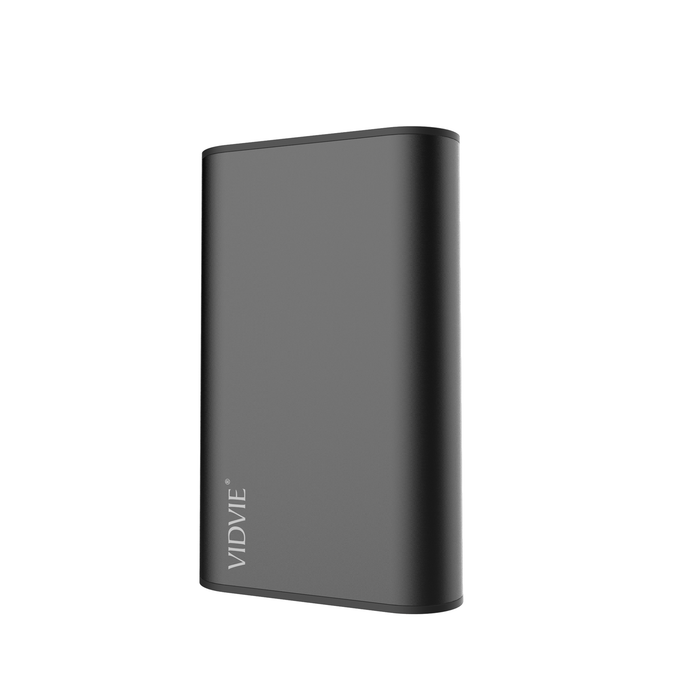 Power Bank 6000 mAh 2 puertos Negro Vidvie PB714
