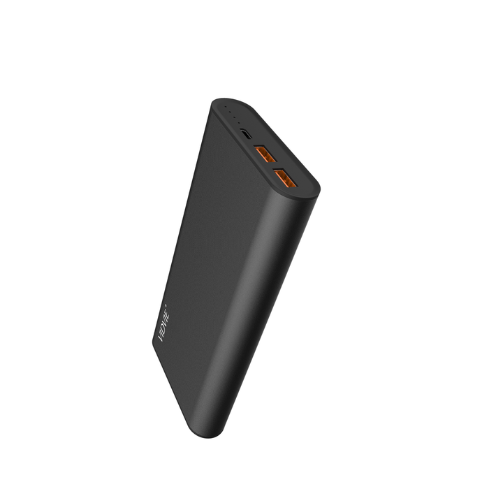 Power Bank 16000 mAh 2 puertos Negro Vidvie PB717
