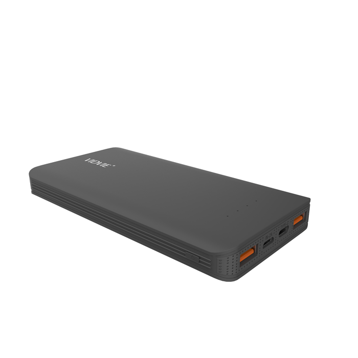 Power Bank 10000 mAh 2 puertos Negro Vidvie PB719