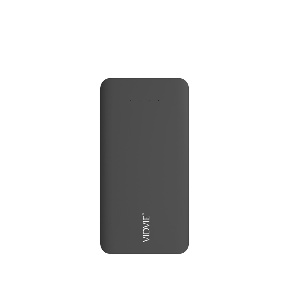 Power Bank 10000 mAh 2 puertos Negro Vidvie PB720