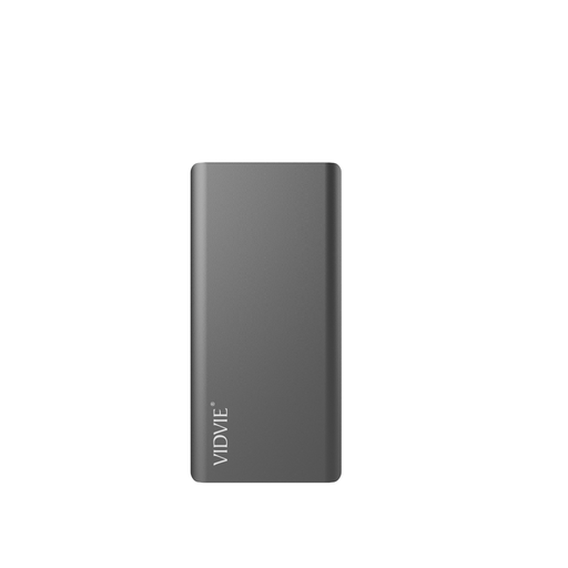 Power Bank 8000 mAh 2 puertos Negro Vidvie PB722