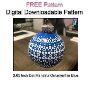 Digital Download - Blue Ornament