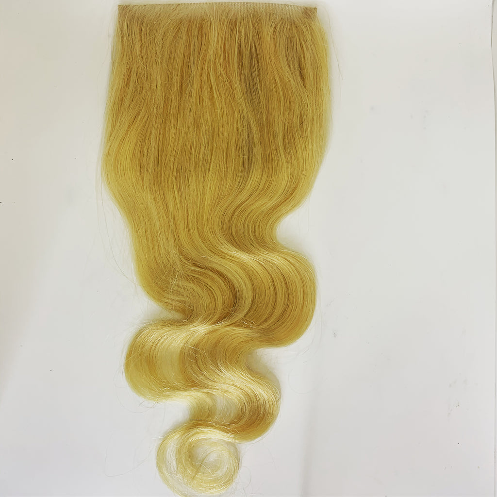 #613 Blonde Closure