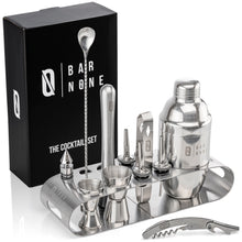 Bar None The Cocktail Set | 12-Piece + Stand Bar Set | Exquisite Quality Bartender Kit + Tools
