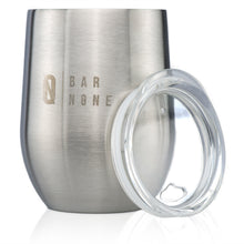 Bar None Wumbler 12 Oz Exquisite Quality Stainless Steel Wine Glasses