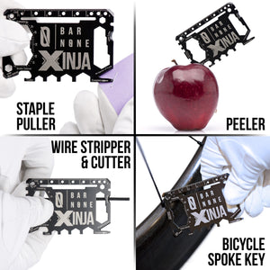 XINJA Staple Puller Peeler Wire Stripper & Cutter Bicycle Spoke Key Tool Examples