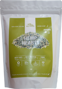 Wild Rivers NZ Hemp Hearts Garnish 1kg