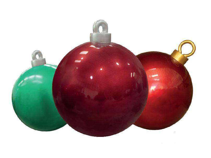 Christmas Ball 120 cm (XL) - LM Treasures Life Size Statues & Prop Rental