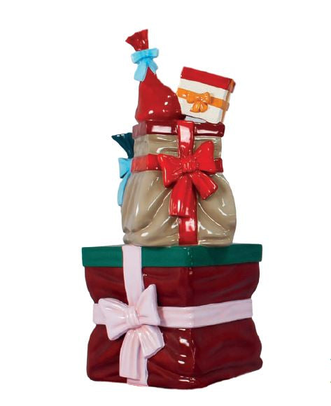 Gift Stack Large - LM Treasures Life Size Statues & Prop Rental