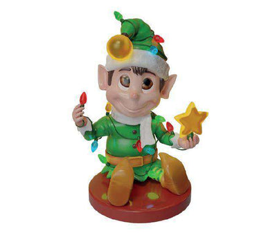 Elf Lights (Green) - LM Treasures Life Size Statues & Prop Rental