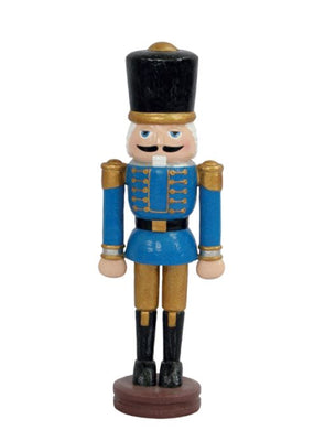Nutcracker Wood Carved 100cm - LM Treasures Life Size Statues & Prop Rental
