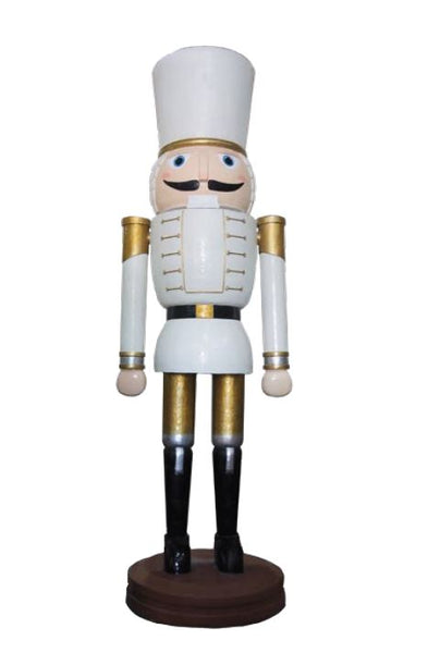Nutcracker Wood Carved 400cm - LM Treasures Life Size Statues & Prop Rental