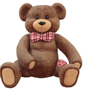 Photo Op Teddybear Chair Valentine - LM Treasures Life Size Statues & Prop Rental