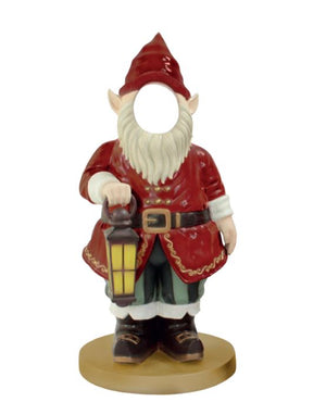 Photo Op Gnome Lantern - LM Treasures Life Size Statues & Prop Rental