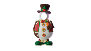 Photo Op Snowman Hat - LM Treasures Life Size Statues & Prop Rental