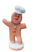Gingerbreadman 2 - LM Treasures Life Size Statues & Prop Rental