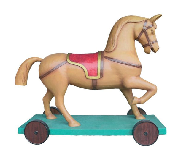 Toy Giant Rocking horse - LM Treasures Life Size Statues & Prop Rental