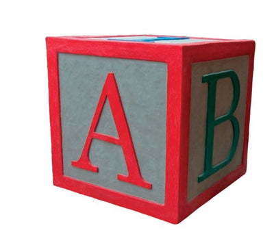 Toy Giant ABC Blocks - LM Treasures Life Size Statues & Prop Rental