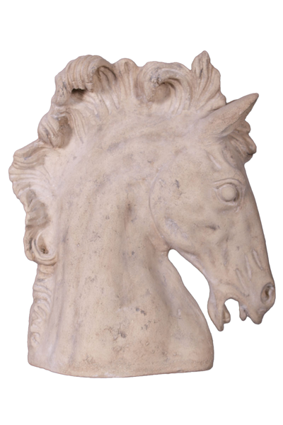 Stone Horse Head Small Statue - LM Treasures Life Size Statues & Prop Rental