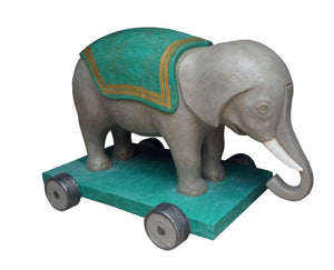 Toy Giant Elephant - LM Treasures Life Size Statues & Prop Rental