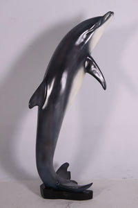 Small Jumping Dolphin Life Size Statue - LM Treasures