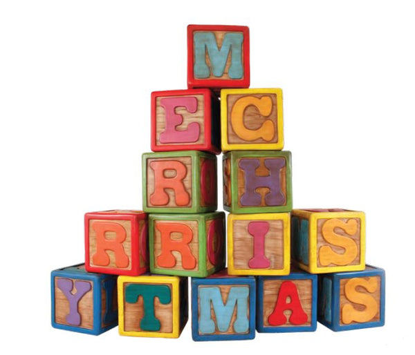 Toy Letter Blocks - LM Treasures Life Size Statues & Prop Rental