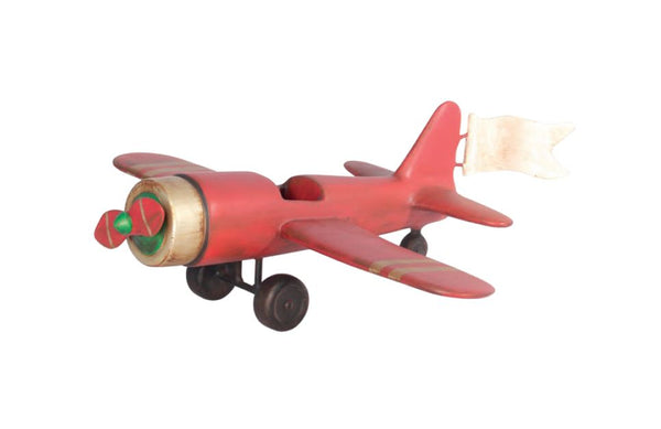 Toy Plane - LM Treasures Life Size Statues & Prop Rental