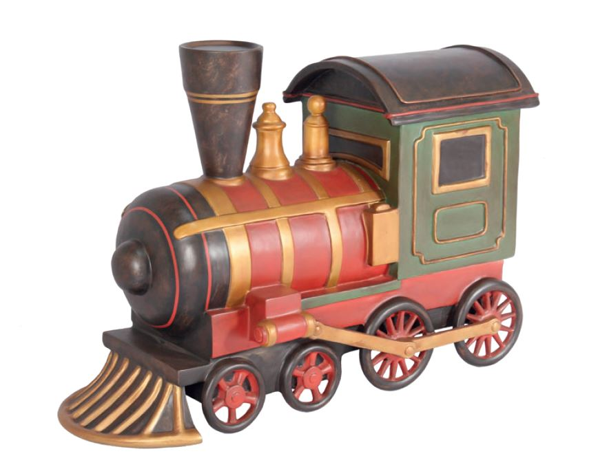 Toy Train - LM Treasures Life Size Statues & Prop Rental