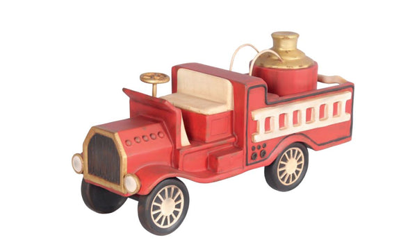Toy Fire Truck - LM Treasures Life Size Statues & Prop Rental