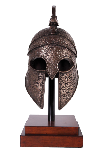 Alexander The Great Helmet Life Size Statue - LM Treasures Life Size Statues & Prop Rental