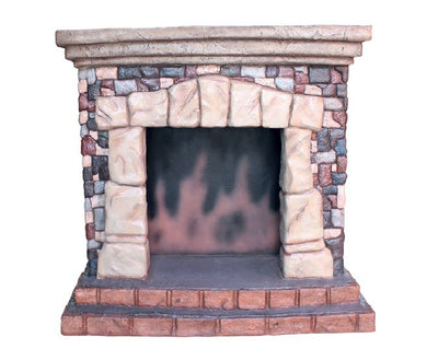 Fireplace - LM Treasures Life Size Statues & Prop Rental