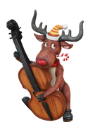 Deer Blues - LM Treasures Life Size Statues & Prop Rental
