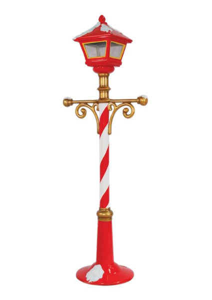 Light Post Christmas - LM Treasures Life Size Statues & Prop Rental