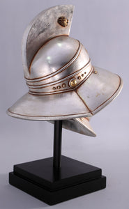 Thracian Gladiator Helmet Life Size Statue - LM Treasures Life Size Statues & Prop Rental
