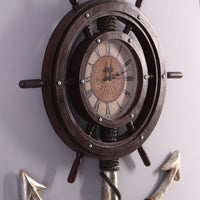 Anchor Clock Life Size Statue - LM Treasures Life Size Statues & Prop Rental
