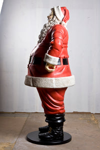 Jolly Santa Claus Christmas Life Size Statue - LM Treasures